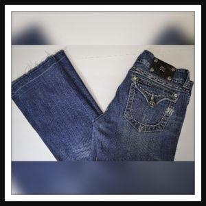 Miss Me Denim Bootcut Distressed Jeans Size 29